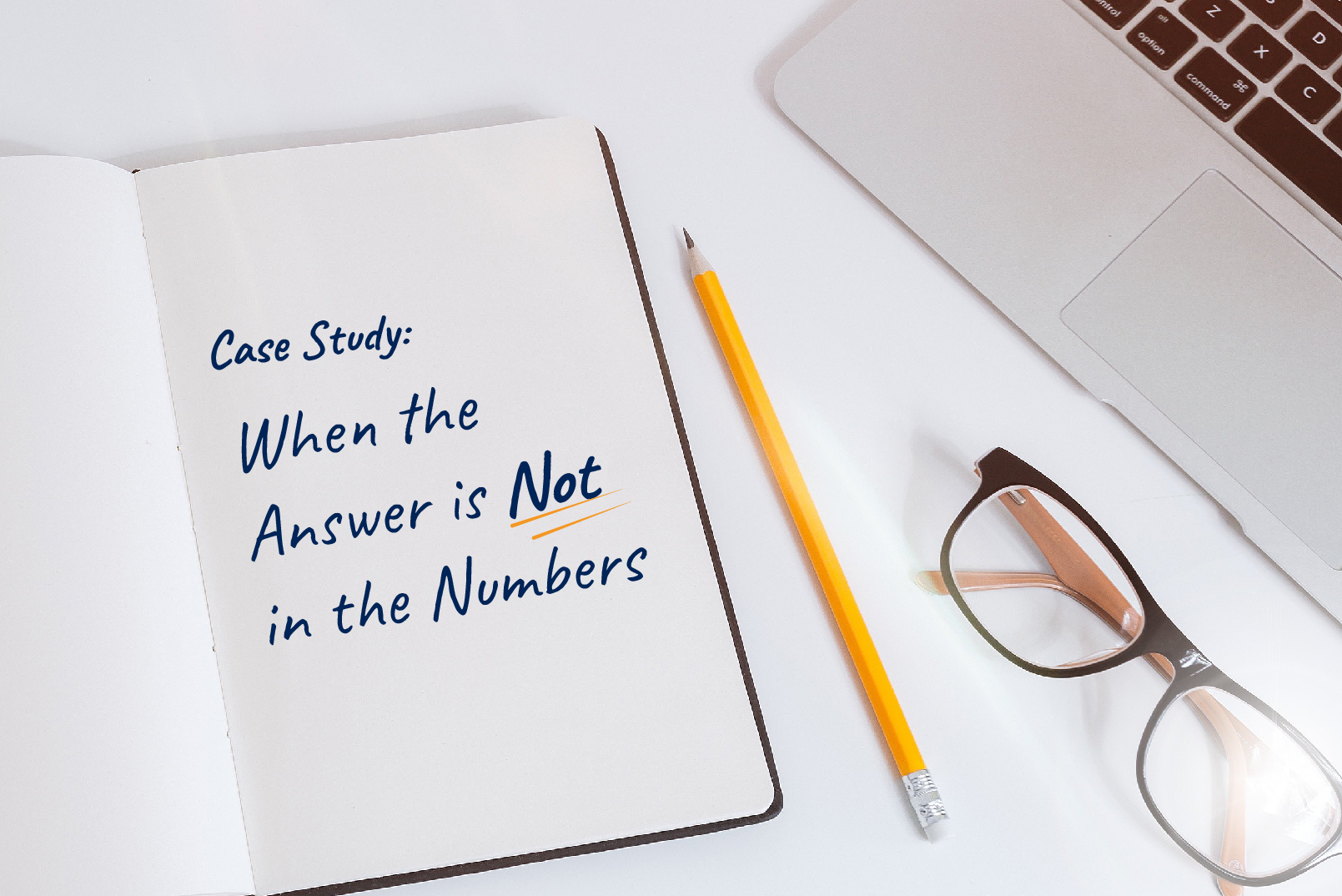 Case Study: When the answer is Not in the Numbers