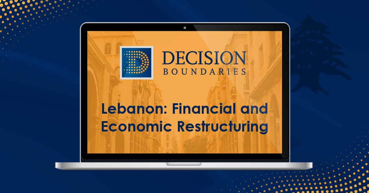 Lebanon: Financial and Economic Restructuring (Video)